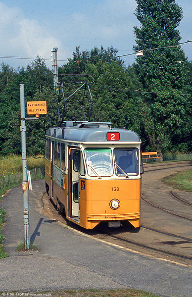 Car 138 at Fridvalla on 2nd August 1991.