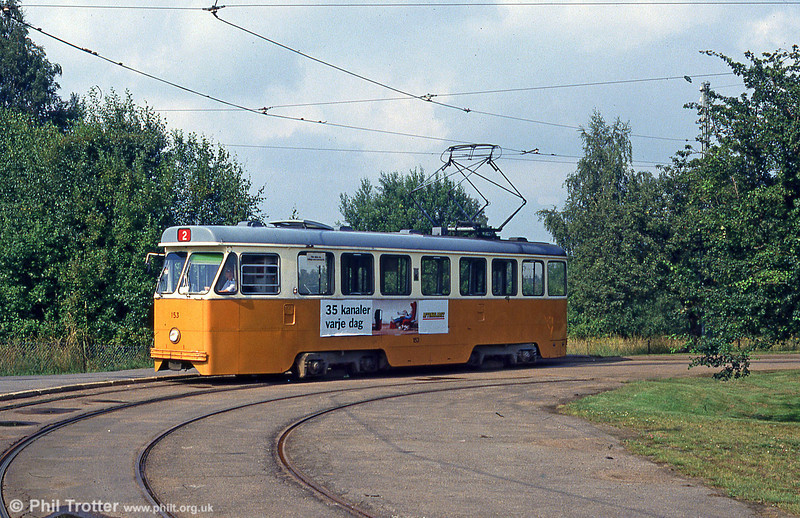 Car 153 at Fridvalla on 2nd August 1991.