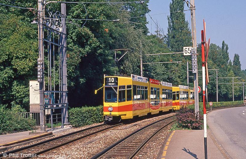Car 238 at Binningen Oberdorf on 7th September 1989.