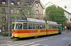 Car 104 at Weisenplatz on 15th April 1992.