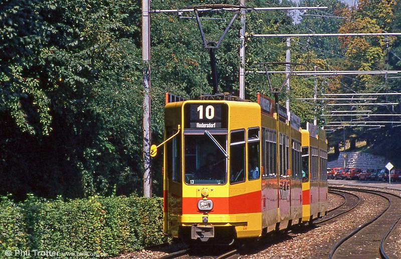 Car 253 at Binningen Oberdorf on 7th September 1989.