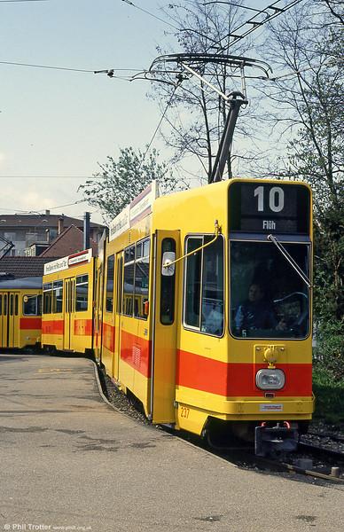 Car 237 at Dornach on 16th April 1992.