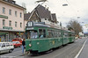 Basel car 627 at Steinerring on 15th April 1992.