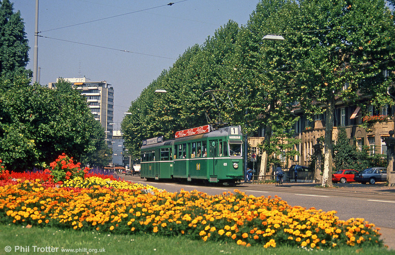 Basel 426 on 7th September 1989. (First published in Modern Tramway, 7/90).