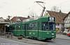 Basel car 670 at Alschwil, 15th April 1992.