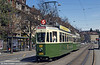 Bern Swiss standard car 604 at Brunnadenstrasse on 13th April 1992.