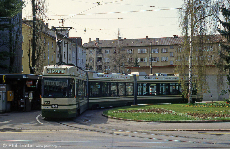 Car 732 at Weissenbuhl on 13th April 1992.