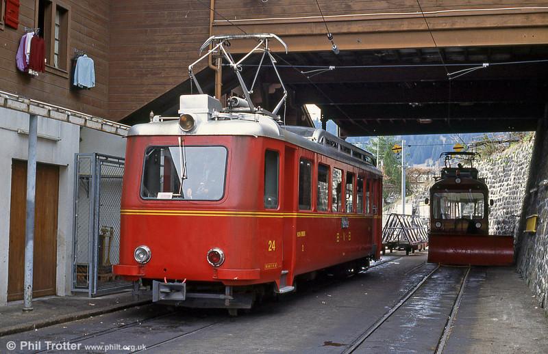 Bex 24, at Villars-sur-Ollon on 22nd April 1992.
