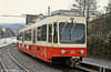 Forchbahn car 30, built by SWS in 1976-1981, is seen at Esslingen on 18th April 1992.