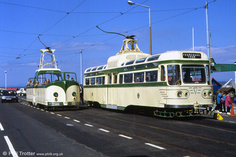 Coronation 660 and Boat 605 at Fleetwood Ferry on  5th May 1991.
