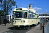 Coronation car 660 at Pharos Place, Fleetwood on 5th May 1991.