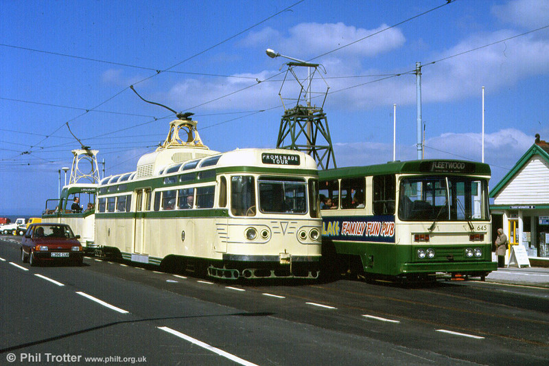 Coronation 660 at Fleetwod Ferry on 5th May 1991.