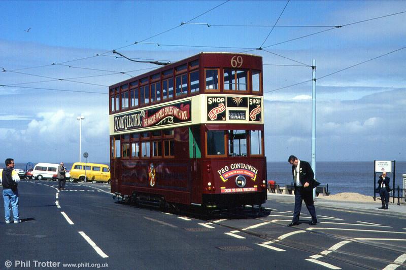 Hong Kong/Birkenhead car 69 at Fleetwood, 30th April 1994.