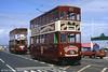 Hong Kong/Birkenhead cars 69 and 70 at Fleetwood, 30th April 1994.