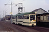 OMO 5 waits to depart from Cleveleys on 1st April 1990.