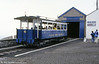 Great Orme car 6 at Half Way station on 5th September 1990.