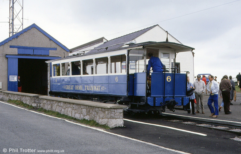 Car 6 at the Summit on 5th September 1990.