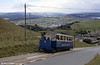 Car 5 climbs towards Half Way at Ty Gwyn Road on 5th September 1990.