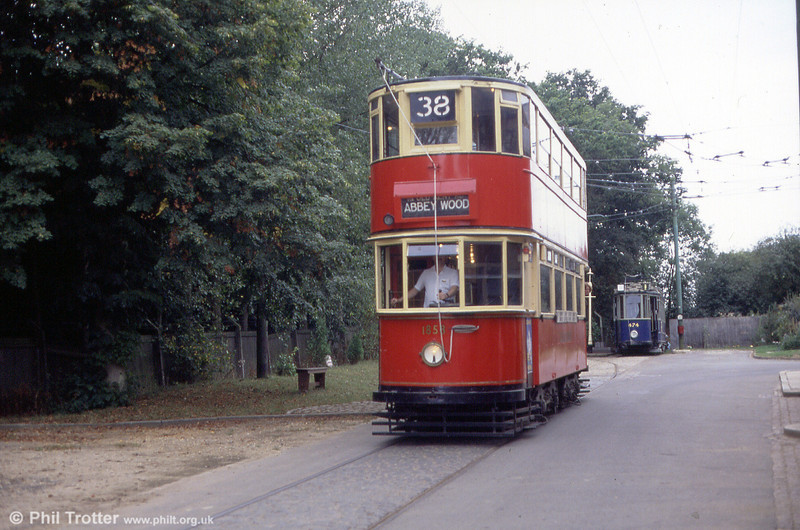 1858 in Tramway Avenue, EATM on 2nd September 1990.