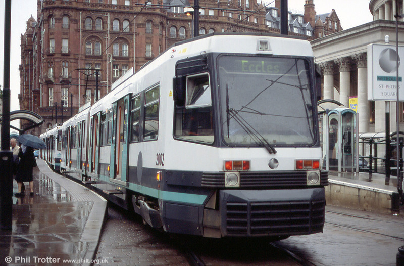 2002 waits at St. Peters Square on 26th June 2004.