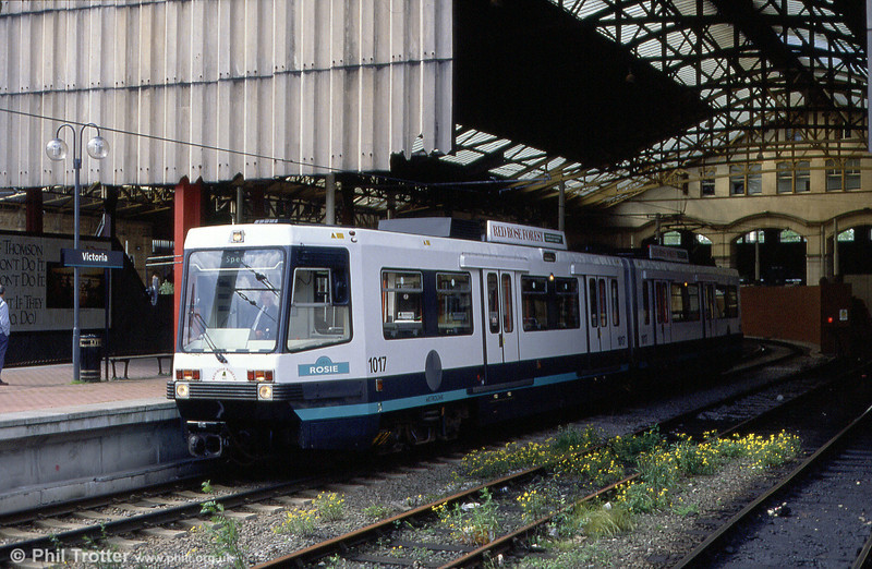 1017 'Rosie' at Victoria Station on 5th June 1994.