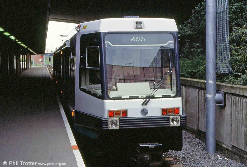 Bury terminus on 4th May 1992.
