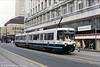 Metrolink car 1009 'CIS 125 Special' at Market Street, 4th May 1992.