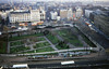 An overview of Piccadilly Gardens interchange on 2nd February 1994.