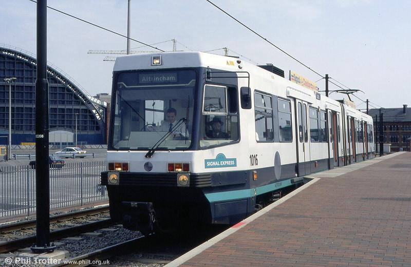 1016 'Signal Express' at G-Mex on 2nd May 1994.