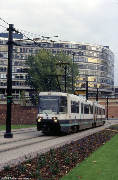 1012 heads away from Piccadilly Station on 2nd October 1993.