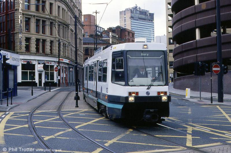 1023 at Shudehill on 5th June 1994.