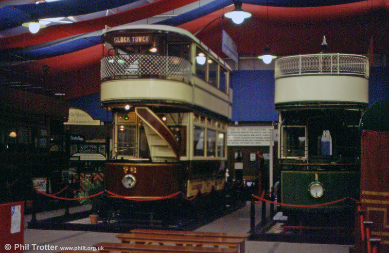 Leicester 76 and Derby 1 in the exhibition hall in September 1997.