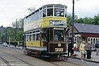 Newly restored Leeds 'Hamilton Air-brake' car 399 on 18th May 1991.