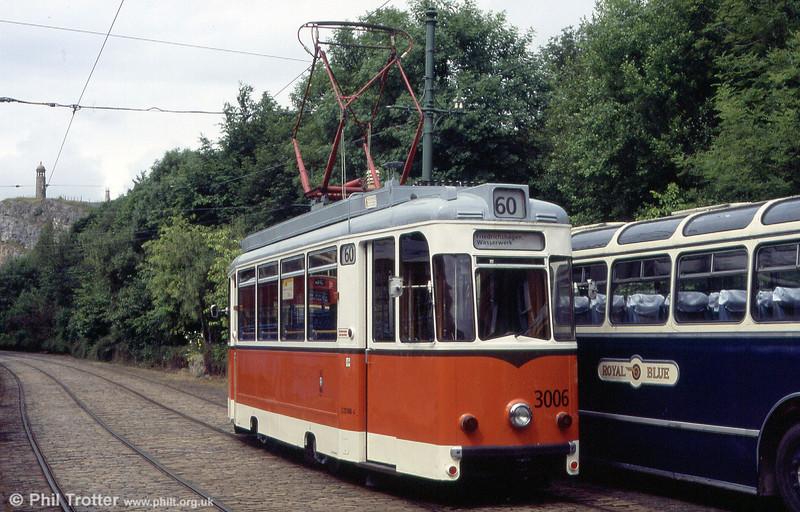 Berlin 3006 in action on 20th June 2004. The car is a type TZ69 Rekowagen.