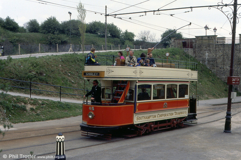 Southampton 45 of 1903. When first bought for preservation, this car cost the princely sum of £10! 18th May 1991.