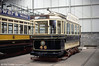 Sheffield 46 has its origins in 1899, being purchased for the opening of the city's tramways. It later saw service as a works car. 18th May 1991.