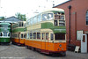 All three trams in this picture once worked in Glasgow! Coronation 1282 dates from 1940 and is seen in the depot yard on 12th June 2005.