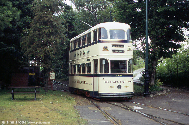 Sheffield 510 at Wakebridge on 20th June 2004.