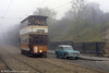 By contrast, Glasgow 22 (and an Austin A40) in the fog on 26th September 1992.