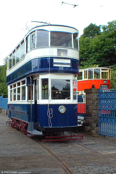 Back from the dead! Leeds 345 being displayed in an almost finished state in the depot yard on 12th June 2005.
