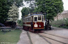 Gateshead and District Tramways no. 5 was built in 1927 and saw later service with BR on the Grimsby and Immingham Tramway. 19th May 1990.