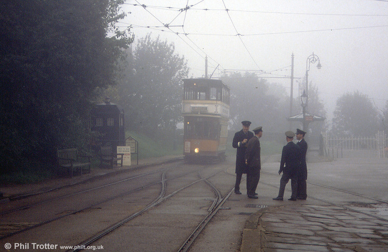 A Glasgow smog in the 1950s? No! Crich, 26th September 1992.