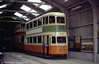 Glasgow 1297 is seen here on 20th June 2004. The car took part in Glasgow's closing procession in 1962.