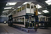 Dundee and District Tramways 21, a steam tram trailer dating from 1894 and built by Milnes. 18th May 1991.