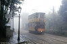 Another atmospheric foggy shot at Crich, 26th September 1992.