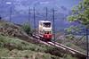 Blackpool 40 heads downhill between Glory Mine and Wakebridge on 20th May 1990.