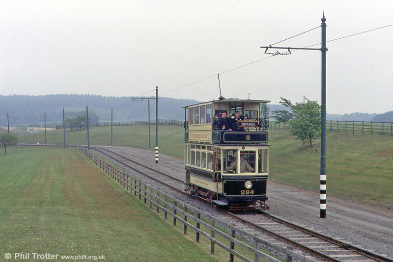 Timewarp: Sheffield 264 in action at Beamish on 24th May 1992.