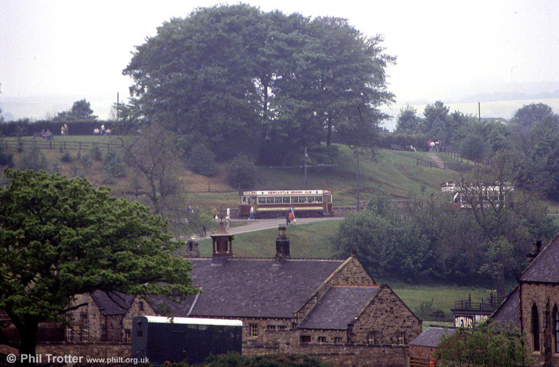 Gateshead 10 on the running line at Beamish on 24th May 1992.