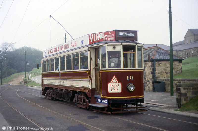 Gateshead saloon no. 10 of 1925 on 24th May 1992. On the closure of the Gateshead system in 1951, 10 passed to British Railways for a second life on the Grimsby & Immingham Light Railway (no. 26) where it saw service until 1961.