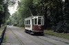Heaton Park Tramway, Manchester, ex-Hull car 96 in action on 1st October 1989.